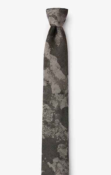 Image of Hand Painted Overlay Necktie 963