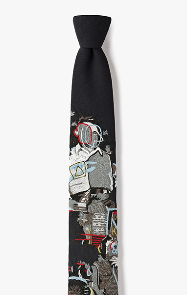 Image of 'Bad Times In Three' Necktie 994