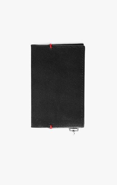 Image of Folded Wallet w/ Sterling Tab