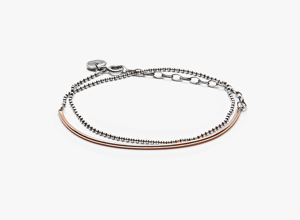 Image of Mixed Metals Bracelet 005