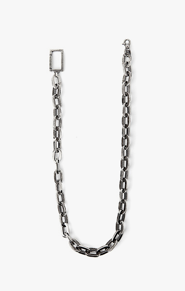 Image of Large Flat Oval Wallet Chain