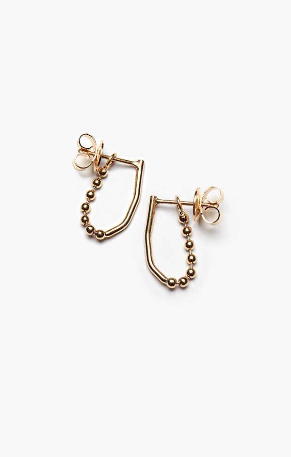 Image of Ball & Wire Earring 005