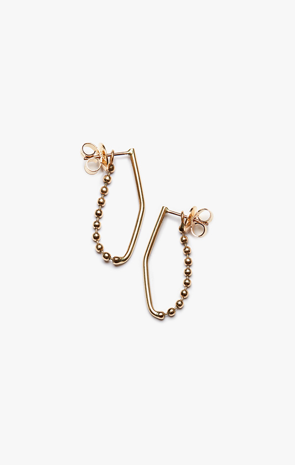 Image of Ball & Wire Earring 006