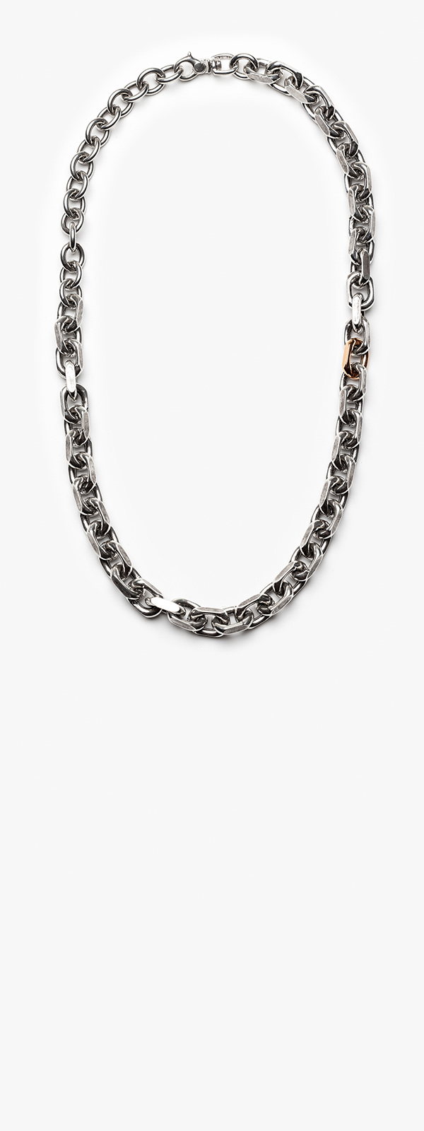 Image of Mixed Metal Necklace 009