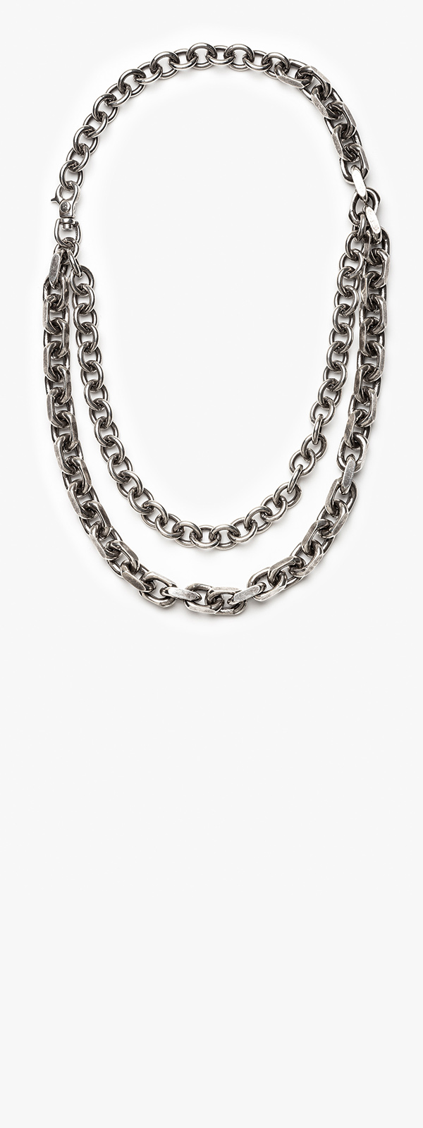 Image of Solid Link Necklace 010