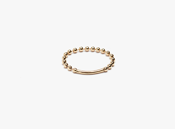 Image of Ball & Wire Ring 002
