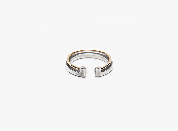 Image of Mixed Metal Ring 004